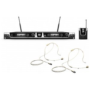 LD Systems U506 BPHH - Wireless Microphone System with 2 x Bodypack and 2 x Headset 1/6