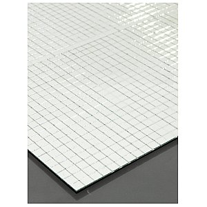 Eurolite Mirror mat 200x200mm, 10x10mm mirrors 1/3