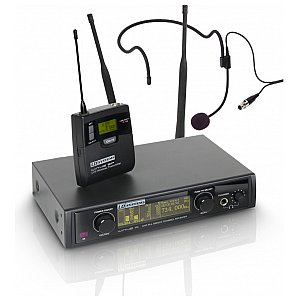 LD Systems WIN 42 BPH - Wireless Microphone System with Belt Pack and Headset 1/4