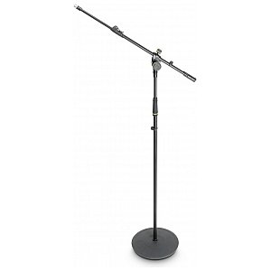 Gravity MS 2322 B - statyw mikrofonowy,  Microphone Stand With Round Base And 2-Point Adjustment Telescoping Boom 1/5