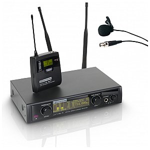 LD Systems WIN 42 BPL - Wireless Microphone System with Belt Pack and Lavalier Microphone 1/5