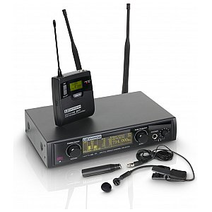 LD Systems WIN 42 BPW - Wireless Microphone System with Belt Pack and Brass Instrument Microphone 1/5