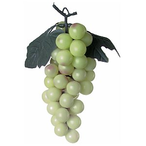 Sztuczne owoce Europalms, Green grapes with leaves 1/1