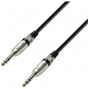 Adam Hall Cables 3 Star Series - Audio Cable 6.3 mm Jack stereo /  6.3 mm Jack stereo 6m kabel audio 1/2