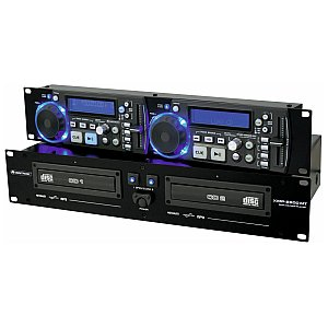 Omnitronic XMP-2800MT Dual CD/MP3 player 1/5