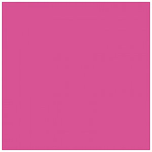 Rosco Supergel DEEP PINK #43 - Rolka 1/3