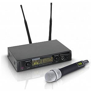 LD Systems WIN 42 HHC - Wireless Microphone System with Condenser Handheld Microphone 1/4