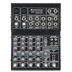 Omnitronic MRS-1002USB Recording mixer 1/4