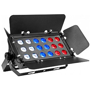 Prolights QUADRO18TRI Naświetlacz LED 18x3W, RGB/FC, IP33 1/8