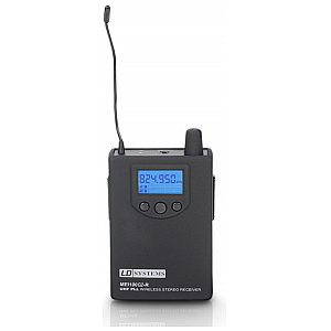 LD Systems MEI 100 G2 BPR - Receiver for LDMEI100G2 In-Ear Monitoring System 1/4