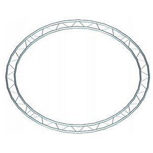 Alutruss DECOLOCK DQ2 circle 6m(inside) horizontal 1/3