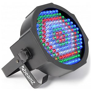 BeamZ LED FlatPAR-154 x 10mm RGBW, DMX, Reflektor PAR LED 1/7