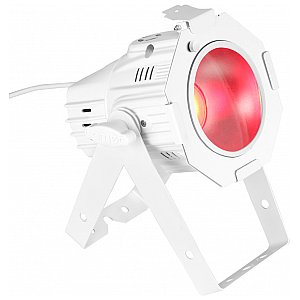 Cameo Light Studio Mini PAR COB 30W WH - RGB in white housing, reflektor sceniczny LED 1/4