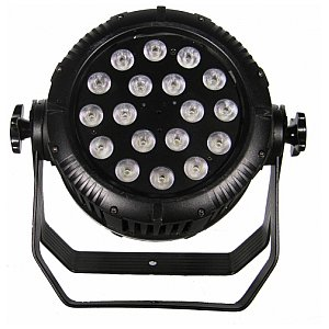Flash LED PAR 64 18X10W RGBW 4W1 IP65 1/4