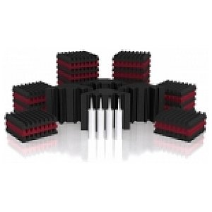 Universal Acoustics Mercury-2 Room Kit szary/bordo, zestaw paneli 1/1