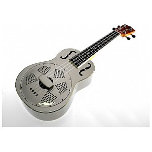 Koki'o U-BRASS-CR-C Ukulele Resonator Chrome Concert 1/4