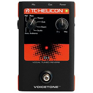 TC Helicon VoiceTone R1 Vocal Tuned Rever, procesor wokalowy 1/3