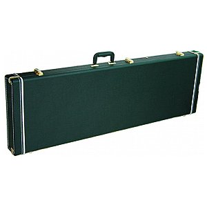 Dimavery Wooden-Case for E-bass rectangel, futerał gitarowy 1/3
