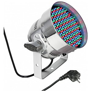 Cameo Light PAR 56 CAN - 151x5mm LED PAR Can RGB in polished housing, reflektor sceniczny LED 1/3
