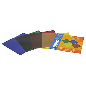 Eurolite Colour-foil set 19x19cm, four colors 1/1
