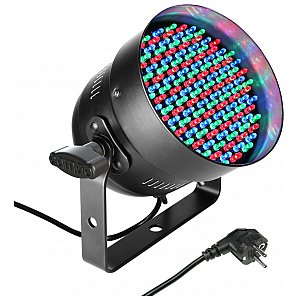 Cameo Light PAR 56 CAN - 151x5 mm LED PAR Can RGB in black housing, reflektor sceniczny LED 1/3
