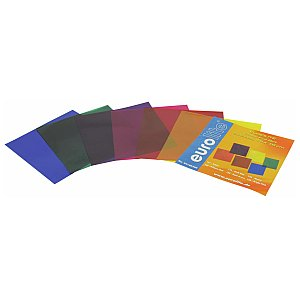 Eurolite Colour-foil set 19x19cm, six colors 1/1