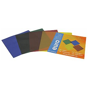 Eurolite Colour-foil set 24x24cm,four colors 1/1