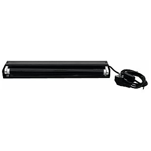 Eurolite UV fixture metal 45cm 15W UV-tube 1/3