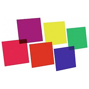 Eurolite Colour-foil set 24x24cm,six colors 1/1