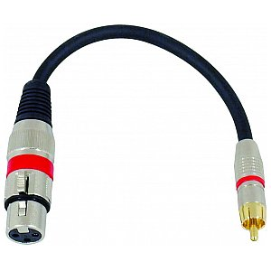 Omnitronic Cable SADC XLR female/RCA male 1/2