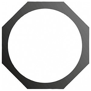 Eurolite Octogonal filter frame PAR-56, black 1/1