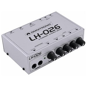 Omnitronic LH-026 3-channel stereo mixer 1/3