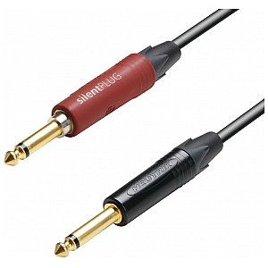 Adam Hall Cables 5 Star Series - Instrument Cable silentPLUG 6.3 mm Jack mono / 6.3 mm Jack mono 9 m przewód instrumentalny 1/2